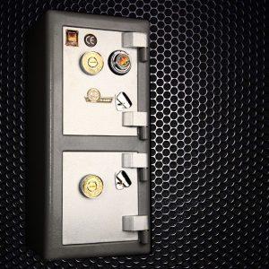 گاوصندوق گاو صندوق کاوه 350DKR دو طبقه کلید و رمز تایوانی